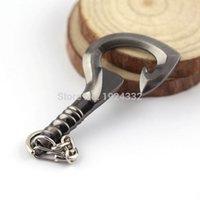antique butcher - Dota Butcher Pudge Hook opener Keychain for Game Fans