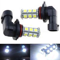 Wholesale new arrival x V HB3 SMD LED HID White LED Car DRL Fog Driving HeadLight Bulb Lamp CLT_02Z