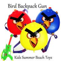 air pressure kids - Summer Beach Toys Birds Backpack Type Water Gun toys for kids Air Pressure beach toys bird gun outdoor sports