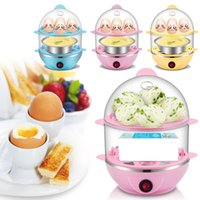 automatic electric cooker - Multi Function Safe Automatic Power Egg Boiler Convenient Electric Egg Boiler Cooker Steamer Egg Custard Kitchen Tools