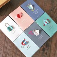 Precio de Tarjetas de navidad baratos-Tarjeta de felicitación al por mayor barata del día de fiesta de la tarjeta de felicitación creativa coreana 3D Tarjeta de felicitación del festival de la tarjeta general de Navidad de Halloween 6 estilos