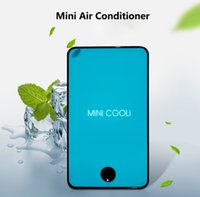 Wholesale Upgrade th Generation Handheld USB Air Conditioner mAh Rechargeable Table Fan Cooler Mini Portable Air Cooler