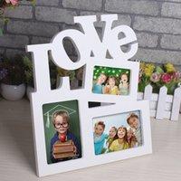 Wholesale Fashion DIY Combination Picture Frame Creative Love Photo Frame Art Decor