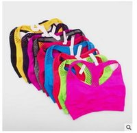 active yoga wear - 2016 Hot Selling Multicolor Women Wireless Bra Wear Push Up Underwear Women Quick Drying Double Yoga Running Bra