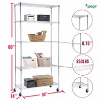 Wholesale Heavy Duty Tier Wire Shelving Rack Chrome Steel Shelf Adjustable quot x30 quot x14 quot