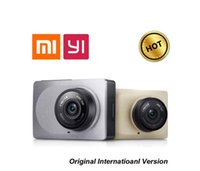 Wholesale International Edition Original Xiaomi Xiaoyi YI Smart Car DVR WiFi Dash Camera Degree P fps Inch for Android IOS
