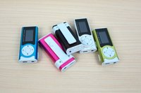 Wholesale Sport Music player MP3 Player Support Micro TF SD Card LCD Screen Music Player USB Cables Earphones Come With Crystal Retail Boxes