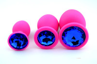 adult tools - 3pcs Pink Silicone Anal Toys Butt Plug Booty Beads Women Sex Toys Adult Sex Products Anal Masturbation Tools