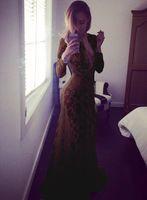 Wholesale Hot Big Promotion Cheap Elegant Long Evening Dresses Off the Chinese Lace Wedding Dresses Cheongsam