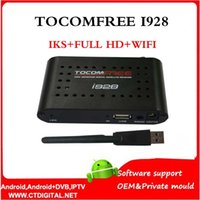 Wholesale 2016 wifi adapter tocomfree i928 free iks full hd for Latin America Satellite Receiver FTA HD for South America