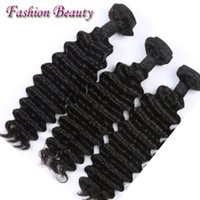 bad hair extensions - Best Brazilian Human Hair Deep Wave Full Cuticle Hair Extension OEM Acceptable No Bad Smell Bundles Human Hair