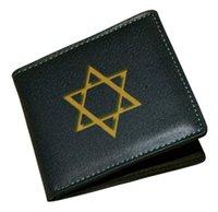 american jewish - 2016 Star of David Judaism Jewish Bifold Unisex Wallet Short Wallet Card Holder Bag Have Stock In UK