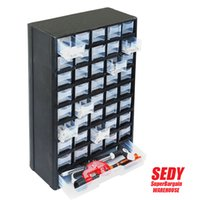 Wholesale New Drawers Storage Cabinet Tool Box Chest Case Plastic Organizer Toolbox Bin