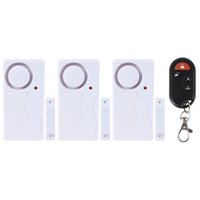 Wholesale 3 in Tiny Smart Magnetic Sensor Alarm Door Bell with Remote Control Suitable for Home Hotel Office Use