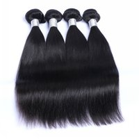 Wholesale Best Quality A Brazilian Virgin Hair Malaysian Indian Peruvian Remy Human Hair weaves Unprocessed Straight Hair Accept Return