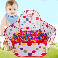 baby casting - m Kids Baby Toy Ball Tent Foldable Cast Basketball Ocean Ball Pool Kids Tent Play Game House Pool Baby Play Pond Colourful Yard