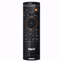 Wholesale Mele F10 Deluxe Fly Air Mouse Wireless Keyboard mouse Remote Control GHz Axial Gyro Game IR Learning Function for TV Box