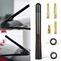 Wholesale Delicate Black Fiber Carbon Short Antenna Radio Car Aerial Antenna For Cars Hot Selling