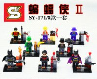 baby catwoman - Baby Toys SY171 superhero Night Wing THE RIDDER catwoman JOKER plastic Building Block minifigures DIY Construction Bricks toy