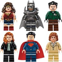 Wholesale Hot Building blocks minifigures Batman v Superman Dawn of Justice The Avengers Superhero bricks for kids Models Toys christmas gifts