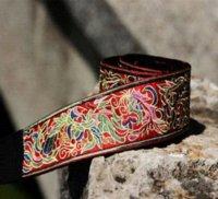 active seat - National trend accessories unique satin exquisite embroidered belt embroidered belt yd belt buckle seat belt