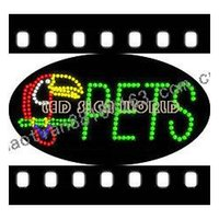 Wholesale Free custom PETS LED signs hot sale
