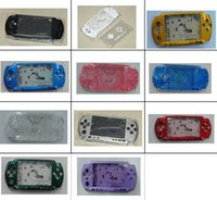 Wholesale High Quality New Full Housing Shell Cover Case for PSP PSP3000 Game Console Shell with Botton Kits Colors in stock