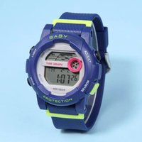 analog baby - New Silicone Brand LED Digital hiking Designer kids watch fashion casual Baby Sports g ift watches christmas