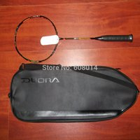 Wholesale badminton racket DUORA10 carbon fibre high quality with T Joint shipping by EMS