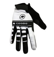 assos sizing - WINTER FLEECE THERMAL ASSOS WHITE Cycling FULL finger Gloves Cycling Bike Gel Gloves Bicycle Glove Accessories Size M XL