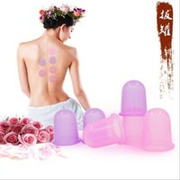 Wholesale Silicone Therapy Cups - Silicone Massage Cupping Anti-cellulite Cups Beauty Therapy Massage Cupping Cup Relaxing Health Beauty Care Natural Therapies C38 4000pcs