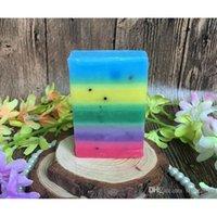 alpha soap - Rainbow Soap Gluta Whitening Soap OMO White Mix Fruits Color Alpha Arbutin Anti Dark Spot Whitening Anti Inflammation