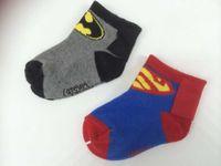 bb socks - 0 Year unisex superheroes baby socks new born winter socks bb superman batman cartoon cloak cape pure cotton cartoon sox boy girl