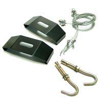 aquarium light hanging kit - Odyssea Black Color Metal Halide Mounting legs Aquarium Lighting Hang Kit