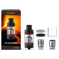 Wholesale Clone SMOK TFV8 Atomizer ml TFV8 Cloud Beast Tank With V8 T8 V8 Q4 Coil Head Best Updated TFV4 Tank mini nano