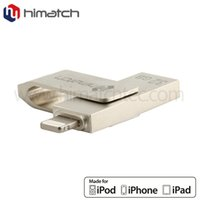 Wholesale OTG usb flash disk for iphone ipad ipod flash memory usb swivel usb expand your storage