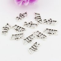 diy jewelry - Hot Antique Silver Tone Vintage Alloy charm Pendant DIY Jewelry x15 mm