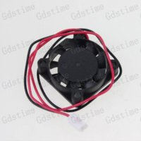 Wholesale 5pcs v mm mm x25x7mm Blade Small Mini Axial Flow Blushless DC radiator Cooling Fan Factory