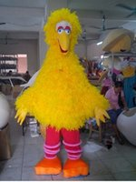 Wholesale Big Yellow Bird Mascot Costume Cartoon Character Costume Party