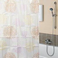 Wholesale Beautiful Design New Fireworks Flowers Waterproof Bathroom Bath Shower Curtain Polyester x70 quot Beautiful Design