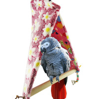african gray parrots - Pet Lover African Gray Parrot Perch Tent Nest Bird Toy