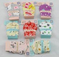 Precio de Guantes de manopla-Manoplas lindas multicoloras infantiles multicoloras de los guantes del bebé de las manoplas de la venta caliente para su bebé guantes agradables