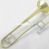 Wholesale Genuine JYTB E100 midrange drop B trombone instrument gold paint