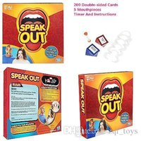 Wholesale Speak Out Game KTV party game cards for party Christmas gift newest best selling toys