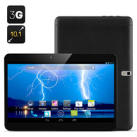 """Cheap 10 """"10.1 Inch Cell phone Android Tablet 'Storm' - Android 4.2, Dual Core 1.3Ghz, 1024x600 3G Sim card, 8GB ROM SIM Card(Black)"""