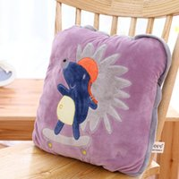 Wholesale New Brand Cartoon white bear Quilt cotton child bolster blanket Bedding cushion birthday gift no