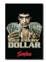 al pacino movies - Removable Mural Home Decor x75cm Wall Sticker Top Selling Scarface Al Pacino Movie Printed Poster