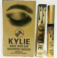 Wholesale New High quality Kylie Mascara Charming eyes Magic Thick Slim Waterproof Mascara Black color DHL