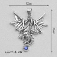 battle horn - New Arrivial12pcs a zinc alloy The battle of the hobbit Dragon DIY Charm