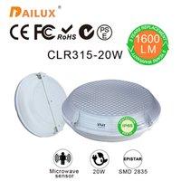 Wholesale Modern surface mounted round Led ceiling lights Microwave sensor Ø315 mm W kitchen light bedroom livingroom years warranty